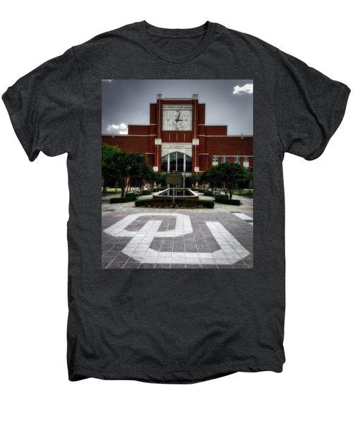 Oklahoma Memorial Stadium Men's Premium T-Shirt by Center For Teaching Excellence