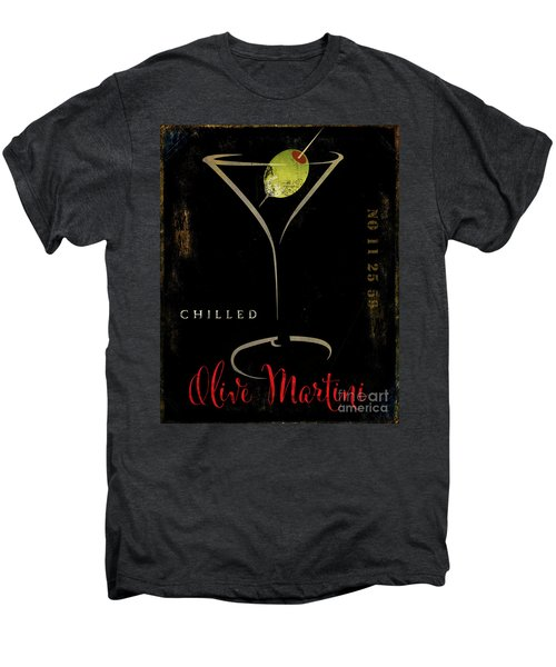 Olive Martini Men's Premium T-Shirt by Mindy Sommers