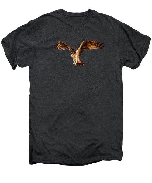 Osprey On The Branch Men's Premium T-Shirt by Zina Stromberg
