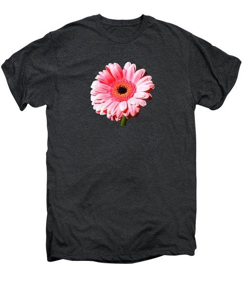 Pink Gerbera Men's Premium T-Shirt by Scott Carruthers