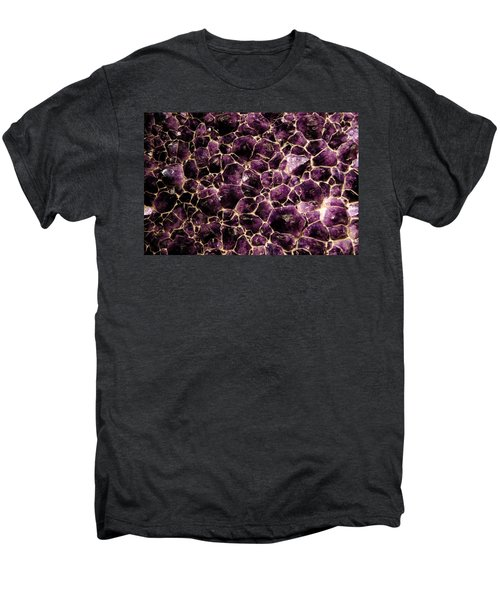 Purple Quartz  Amethyst Men's Premium T-Shirt by LeeAnn McLaneGoetz McLaneGoetzStudioLLCcom