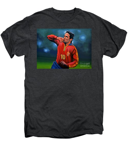 Raul Gonzalez Blanco Men's Premium T-Shirt by Paul Meijering