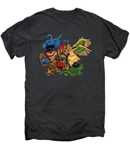 Rawkin' Cawks Men's Premium T-Shirt by Vicki Von Doom