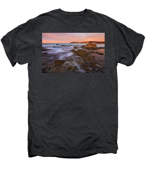Red Dawning Men's Premium T-Shirt by Mike  Dawson