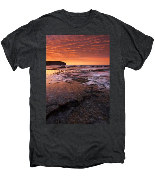 Red Tides Men's Premium T-Shirt by Mike  Dawson