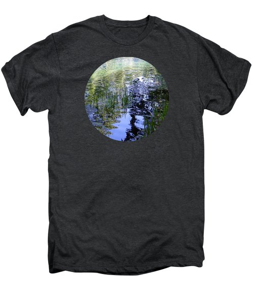 Reflections  Men's Premium T-Shirt by Mary Wolf