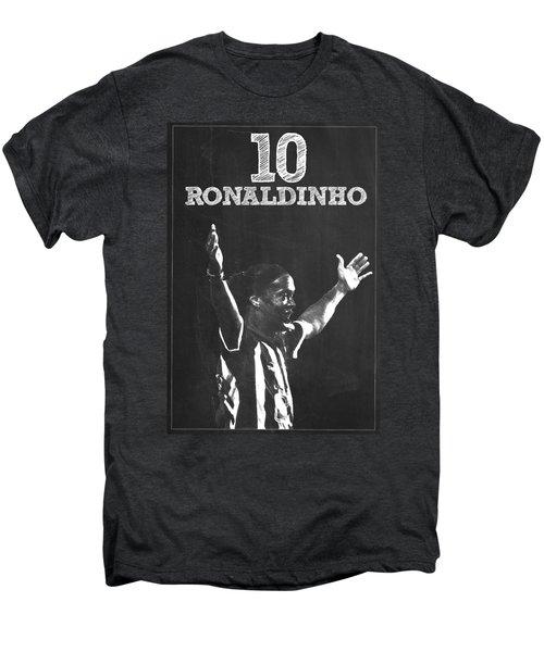 Ronaldinho Men's Premium T-Shirt by Semih Yurdabak