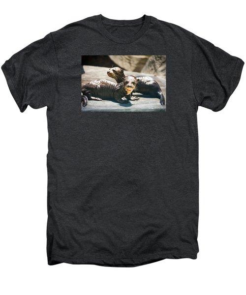Siblings Men's Premium T-Shirt by Jamie Pham