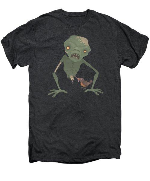 Sickly Zombie Men's Premium T-Shirt by John Schwegel
