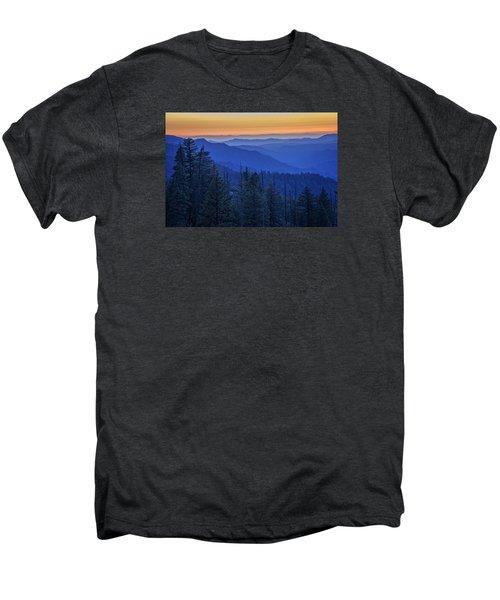 Sierra Fire Men's Premium T-Shirt by Rick Berk