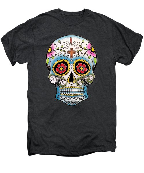 Skull 10 Men's Premium T-Shirt by Mark Ashkenazi