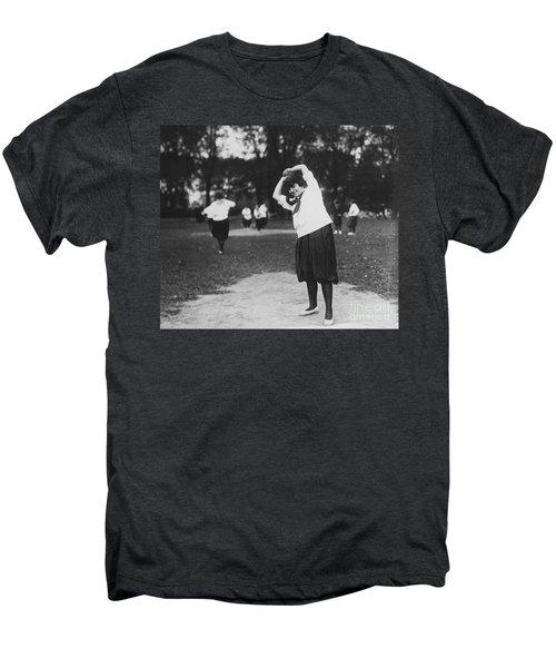 Softball Game Men's Premium T-Shirt by Granger