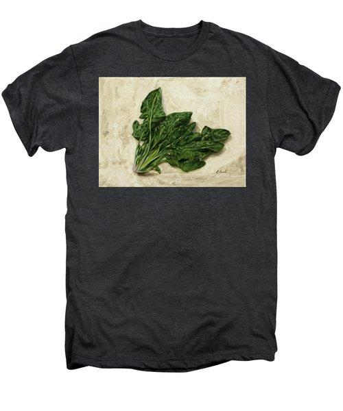 Spinaci Men's Premium T-Shirt by Guido Borelli
