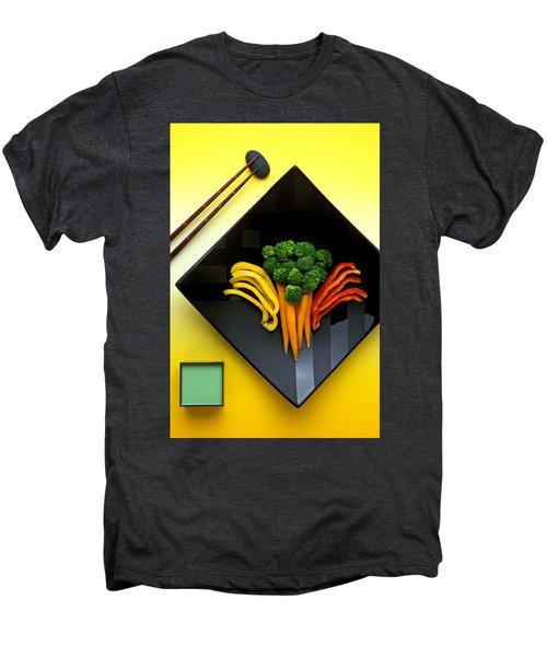 Square Plate Men's Premium T-Shirt by Garry Gay