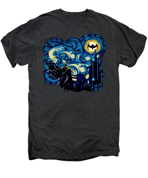 Starry Knight Men's Premium T-Shirt by Three Second
