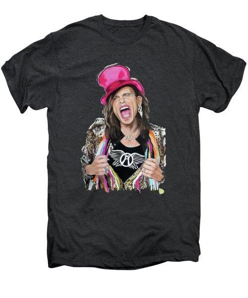 Steven Tyler 2 Men's Premium T-Shirt by Melanie D