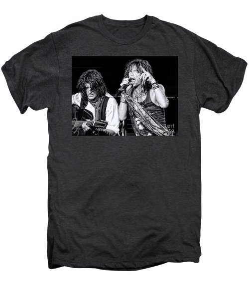 Steven Tyler Croons Men's Premium T-Shirt by Traci Cottingham