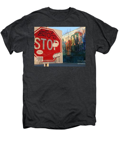 Street Art Washington D.c.  Men's Premium T-Shirt by Clay Cofer