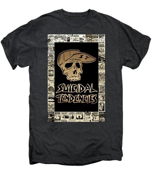 Suicidal Tendencies 2 Men's Premium T-Shirt by Michael Bergman