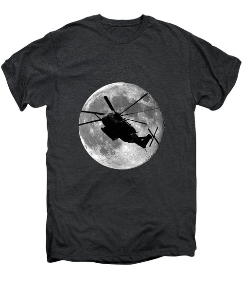 Super Stallion Silhouette .png Men's Premium T-Shirt by Al Powell Photography USA