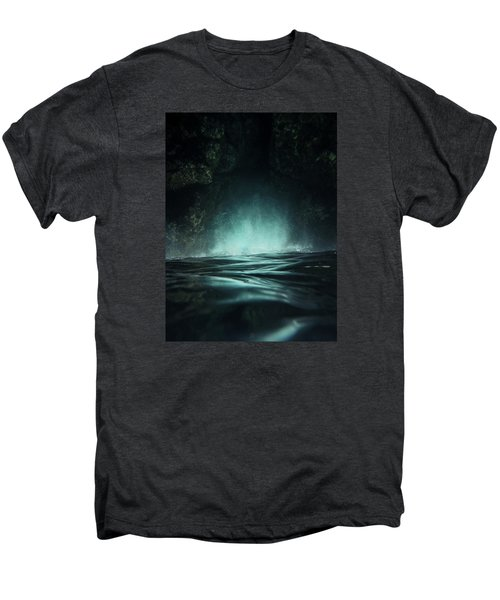 Surreal Sea Men's Premium T-Shirt by Nicklas Gustafsson
