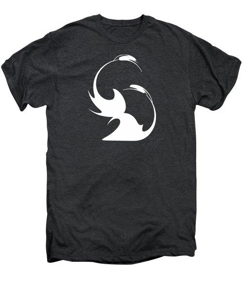 Swan Fidelity Men's Premium T-Shirt by Tatiana Chernyavskaya