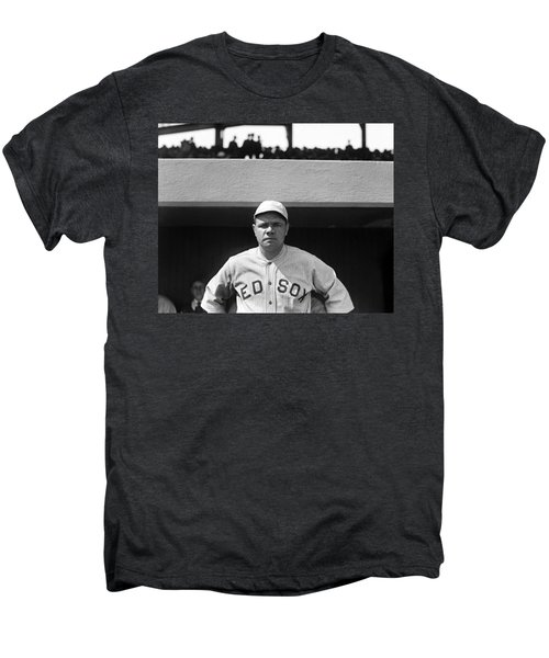 The Babe - Red Sox Men's Premium T-Shirt by International  Images