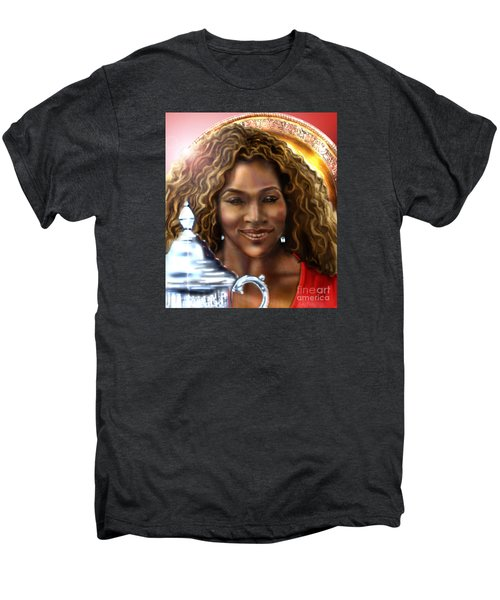 The Beauty Victory That Is Serena Men's Premium T-Shirt by Reggie Duffie