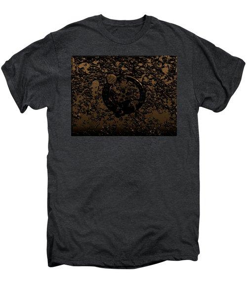 The Boston Celtics 1f Men's Premium T-Shirt by Brian Reaves