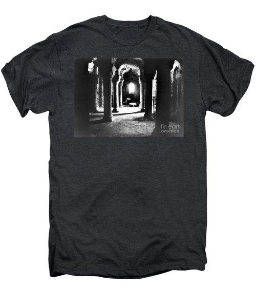 The Crypt Men's Premium T-Shirt by Simon Marsden