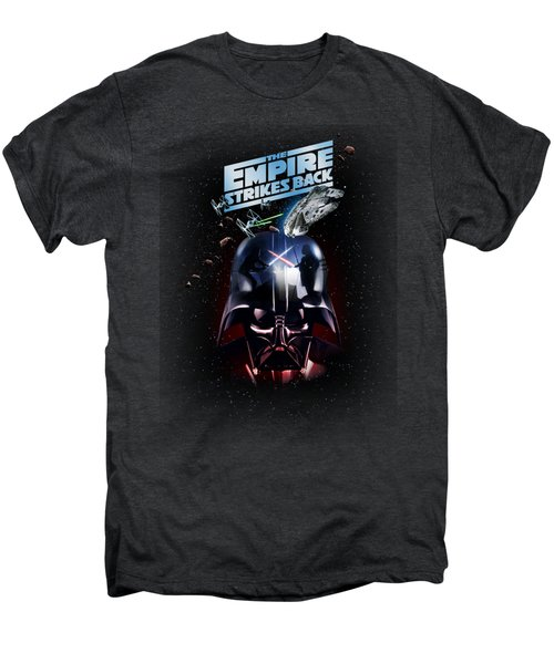 The Empire Strikes Back Men's Premium T-Shirt by Edward Draganski