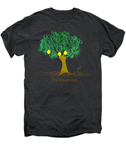 The Lemon Tree Men's Premium T-Shirt by Alberto RuiZ