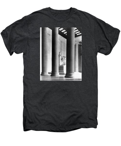 The Lincoln Memorial Men's Premium T-Shirt by War Is Hell Store
