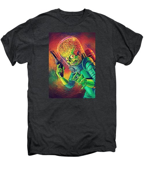 The Martian - Mars Attacks Men's Premium T-Shirt by Taylan Apukovska
