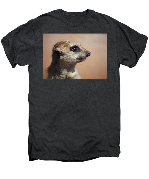 The Meerkat Da Men's Premium T-Shirt by Ernie Echols