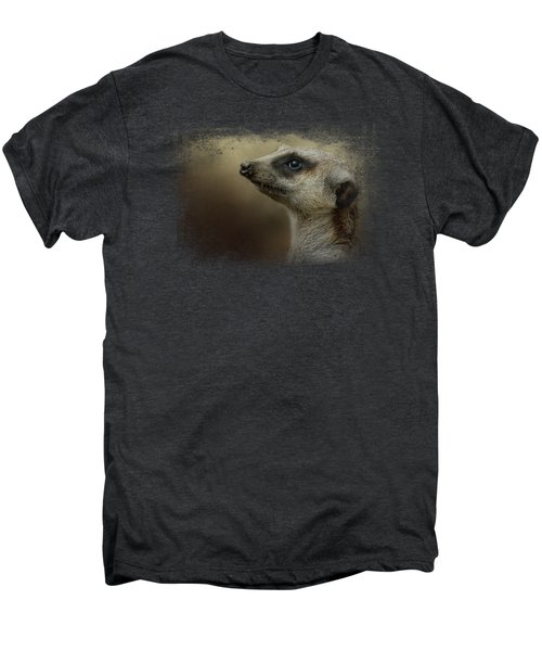 The Meerkat Men's Premium T-Shirt by Jai Johnson