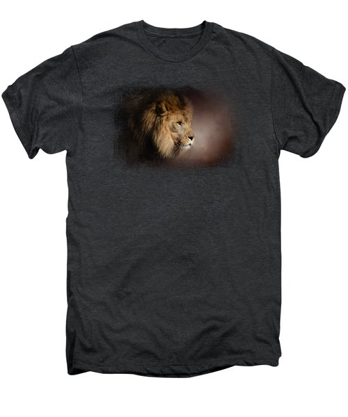 The Mighty Lion Men's Premium T-Shirt by Jai Johnson
