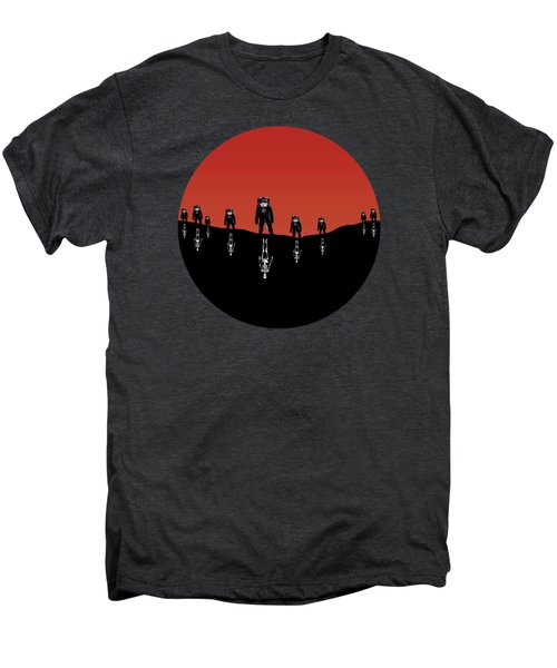 The Rust Coloured Soil - Something Strangely Familiar Men's Premium T-Shirt by Zombie Rust