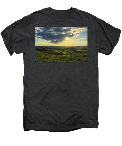 The Sun Shines Through A Cloud Men's Premium T-Shirt by Robert Postma