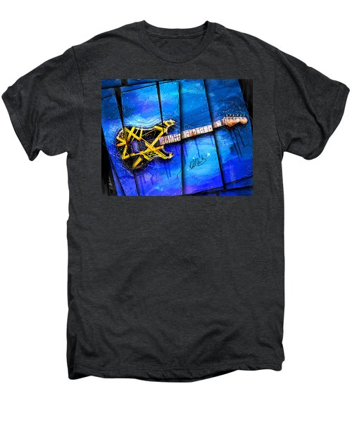 The Yellow Jacket Men's Premium T-Shirt by Gary Bodnar