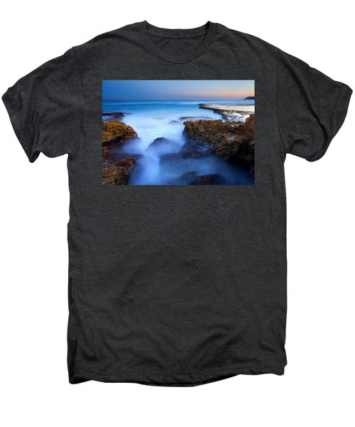 Tidal Bowl Boil Men's Premium T-Shirt by Mike  Dawson