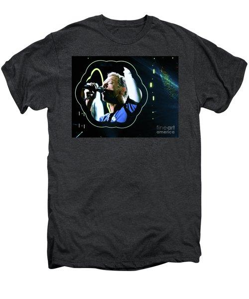 Chris Martin - A Head Full Of Dreams Tour 2016  Men's Premium T-Shirt by Tanya Filichkin