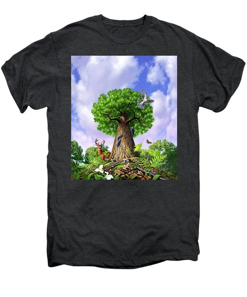 Tree Of Life Men's Premium T-Shirt by Jerry LoFaro