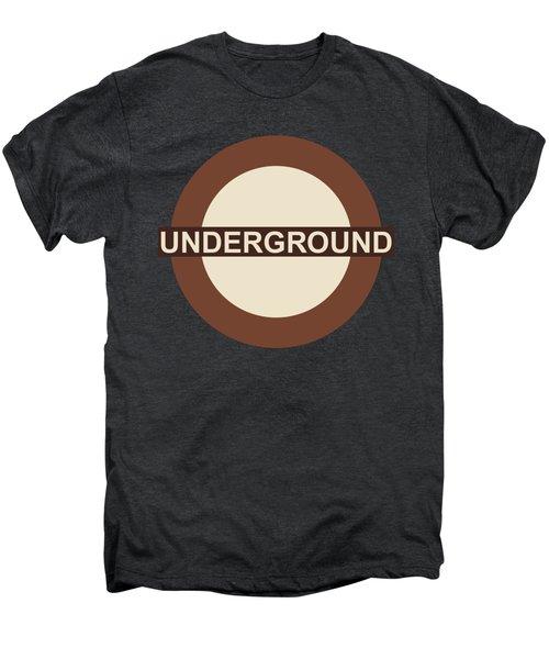 Underground75 Men's Premium T-Shirt by Saad Hasnain