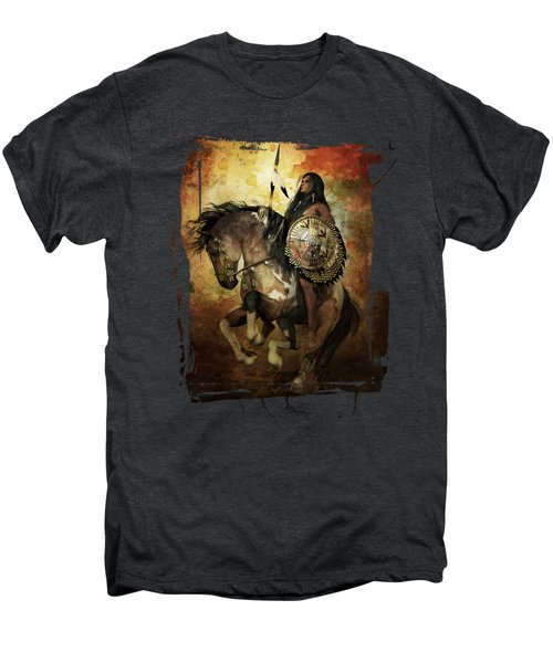 Warrior Men's Premium T-Shirt by Shanina Conway