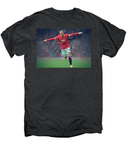 Wayne Rooney Men's Premium T-Shirt by Semih Yurdabak