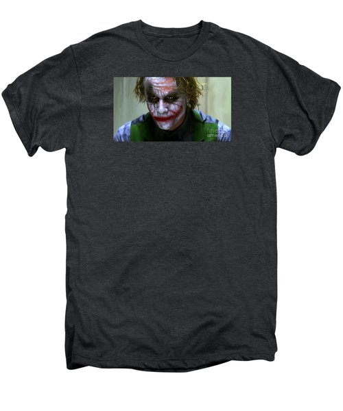 Why So Serious Men's Premium T-Shirt by Paul Tagliamonte