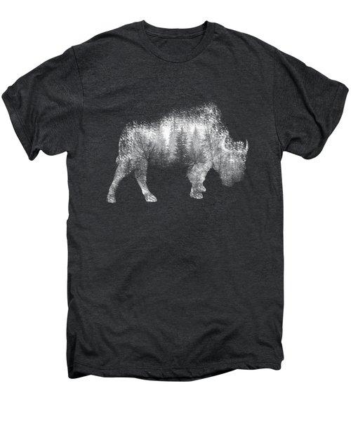 Wild Bison Men's Premium T-Shirt by Diana Van