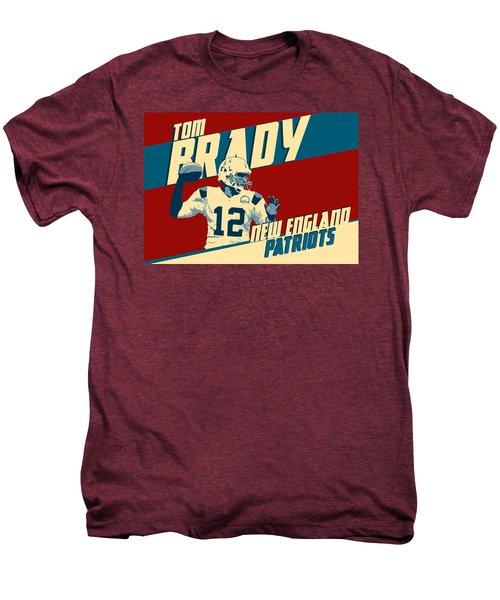 Tom Brady Men's Premium T-Shirt by Taylan Soyturk