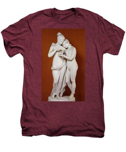 Cupid And Psyche Men's Premium T-Shirt by Antonio Canova